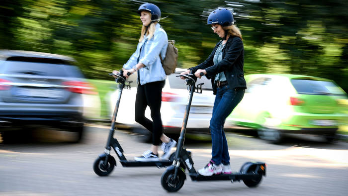 green e wheels - electric scooter