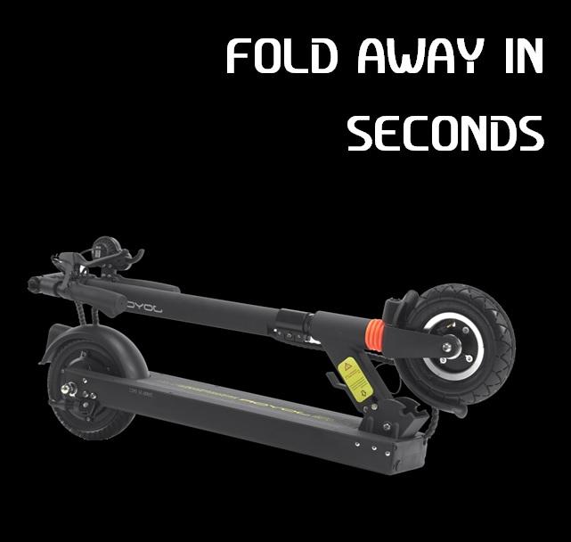 Joyor F3 Scooter fold away
